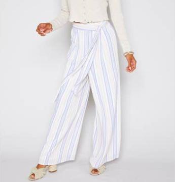 Sadie & Sage High Tide Stripe Pants