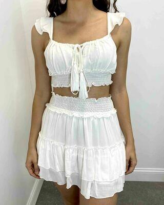 KA Tassel Top Skirt Set