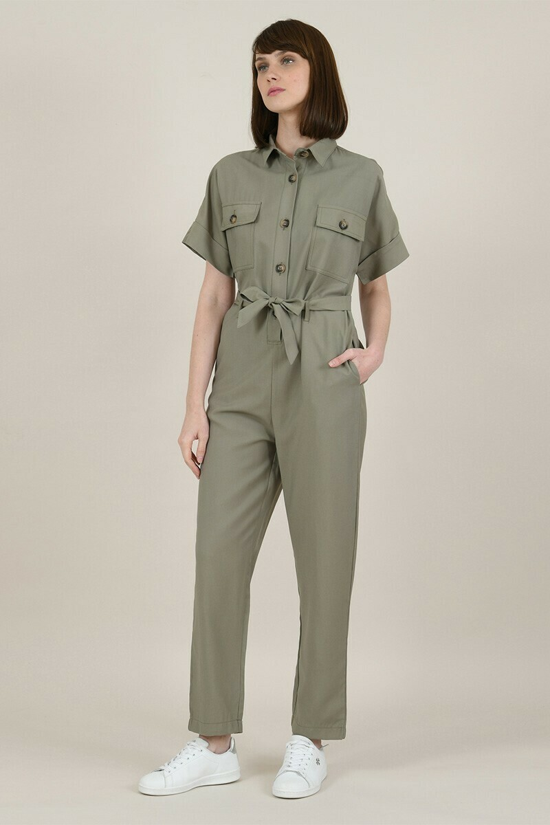 Molly Bracken Military Jumpsuit