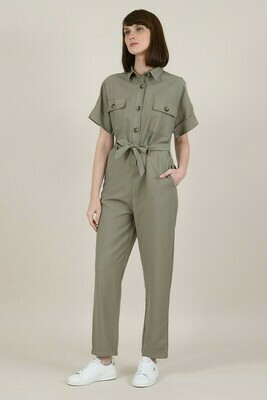 Molly Bracken Military Jumpsuit