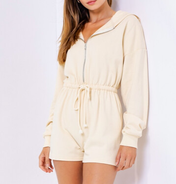 Onesie Romper with Hood