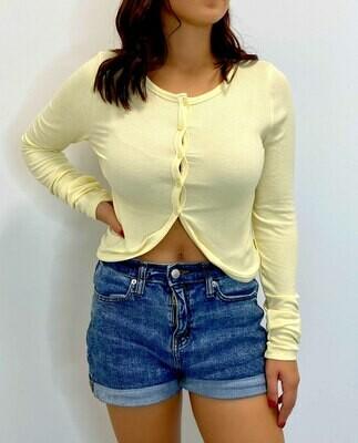 Luna Long Sleeve Cardigan Top