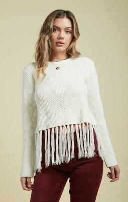 Sage The Label Billie Fringe Sweater