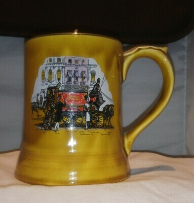 ROTHMANS CIGARETTES DELIVERY COACH WADE WARE BEER MUG