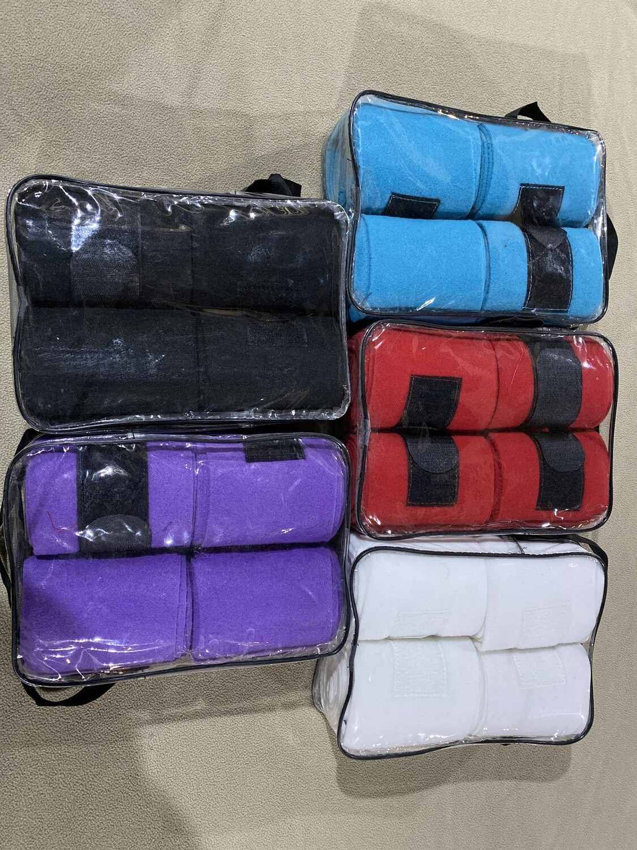 Umber Tack Polo Wraps