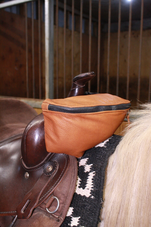 Buffalo Leather Pommel Pouch