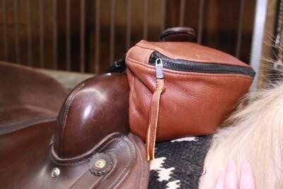 Deer Leather Pommel Pouch