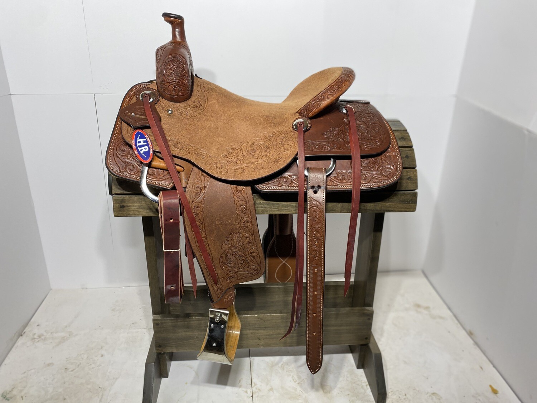 "16.5"" HR Ranch Cutter Saddle"