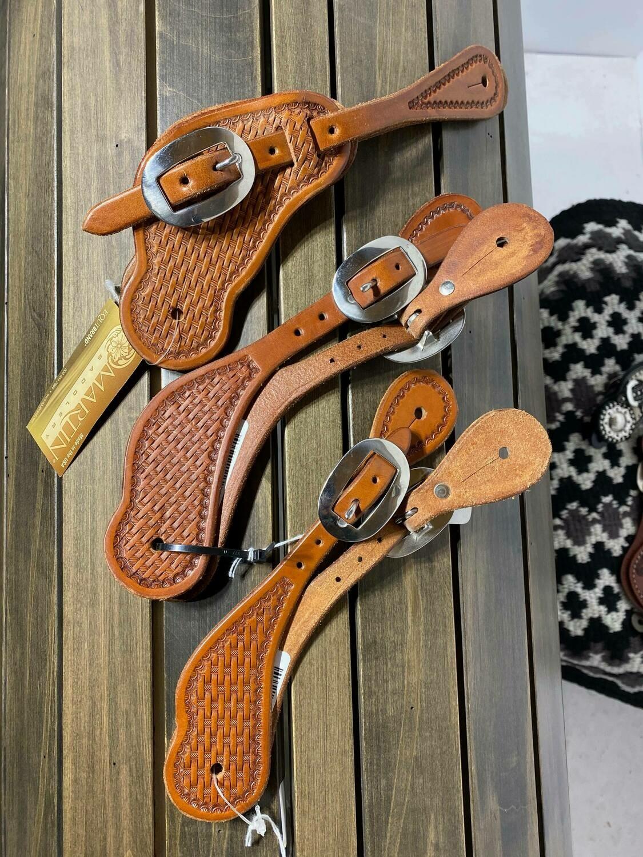 Martin Saddlery Basket Weave Straps