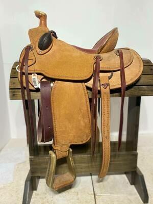 "15"" A Fork Ranch Saddle"
