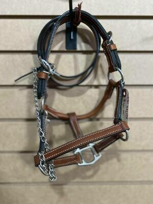 Med Oil Mini Show Halter with Lead