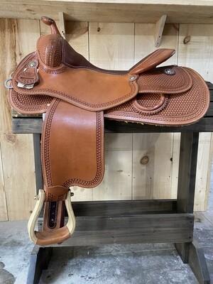 WR Signature FG Ryder Pro Reining Saddle