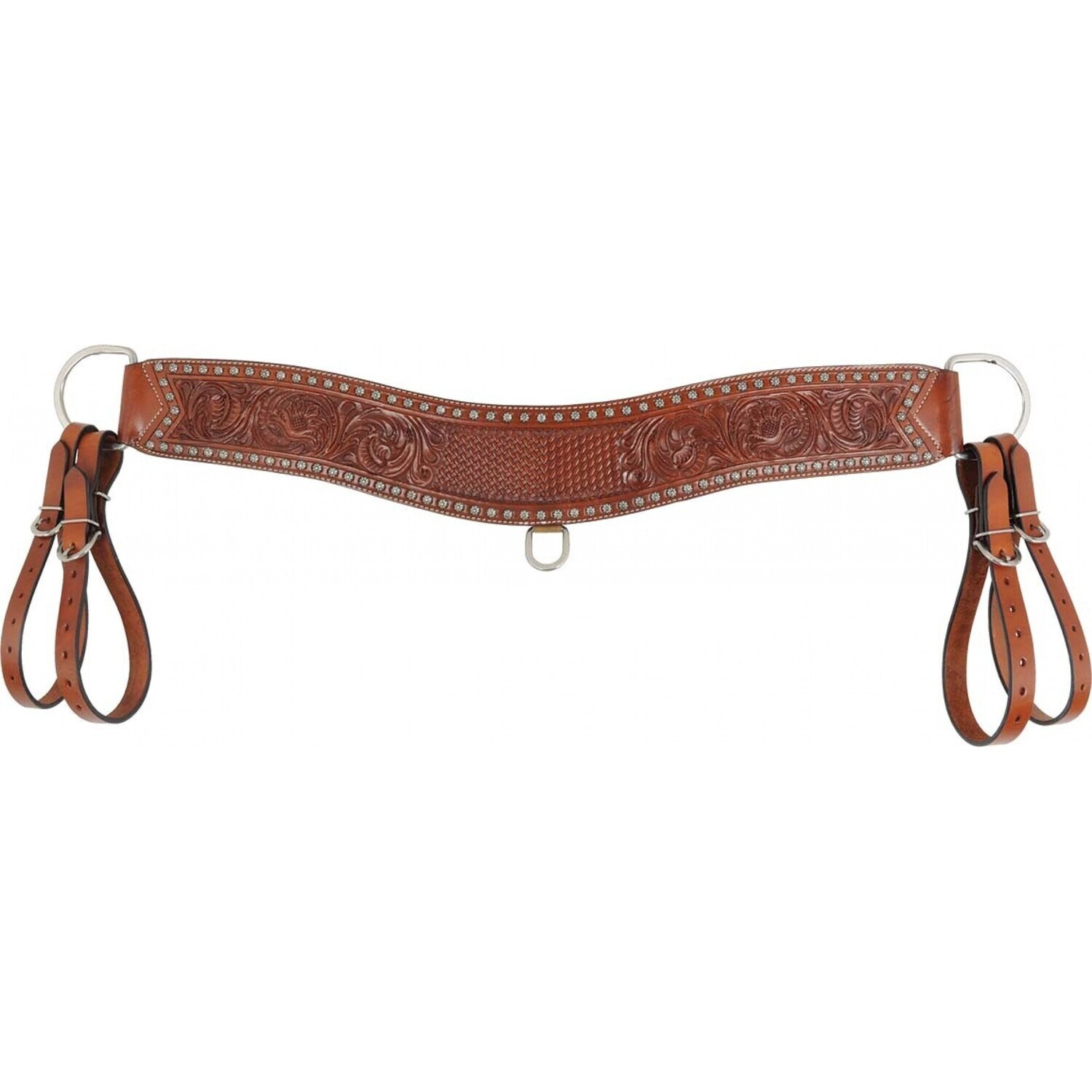 COUNTRY LEGEND TRIPPING COLLAR W/BASKET FLORAL