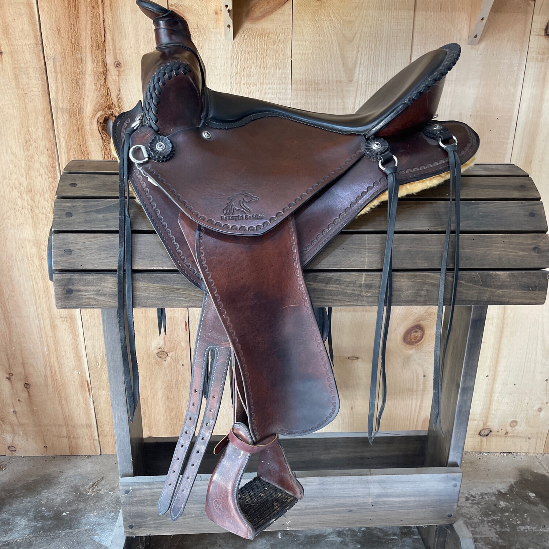 "16"" Skirtless Synergist Trail Saddle"