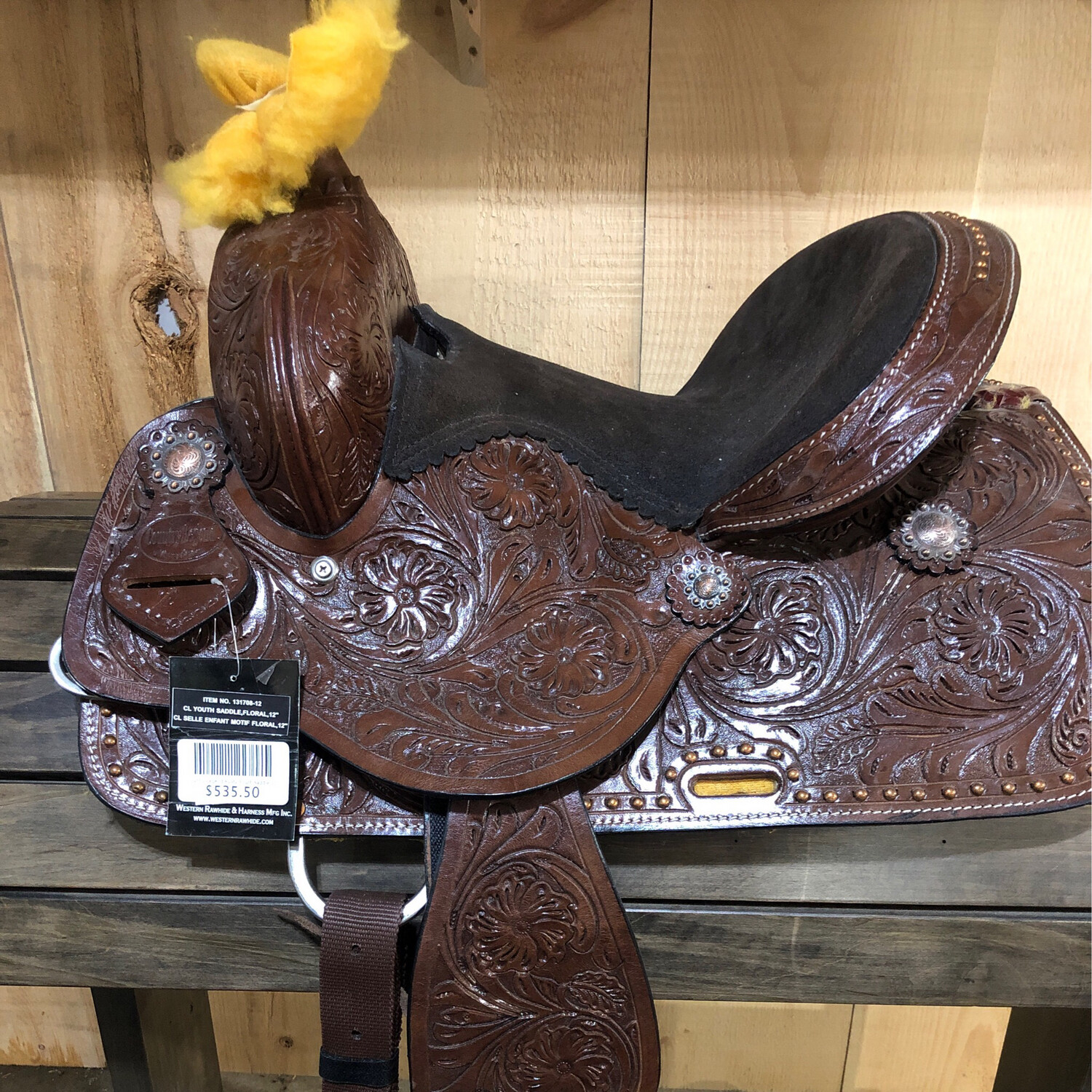 """Country Legend Rusty Youth Saddle 12"""""""
