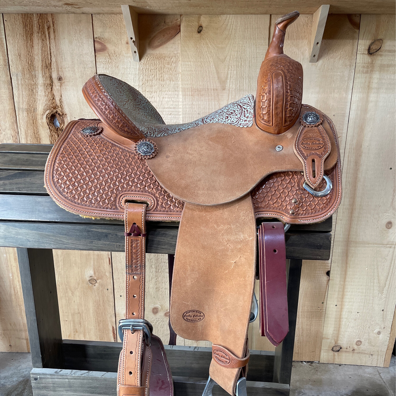 "14.5"" Cowboy Collection Saddle"