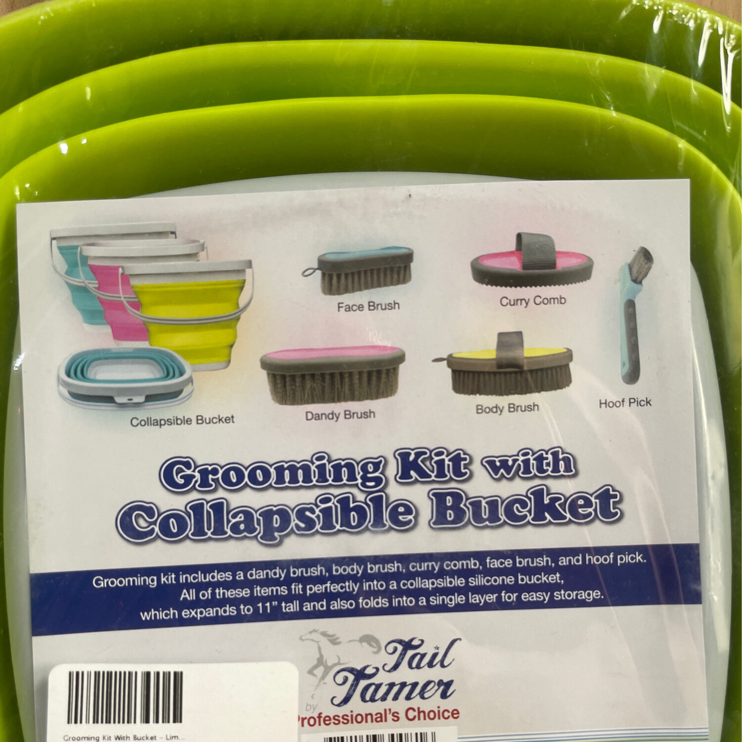 Grooming Kit With Bucket