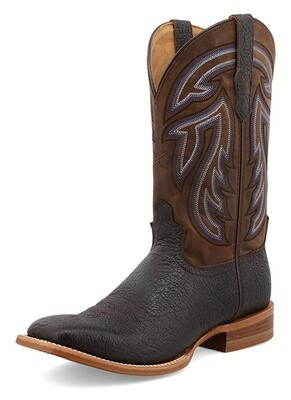 """Twisted X Men's 12"""" Rancher Black/Chocolate"""