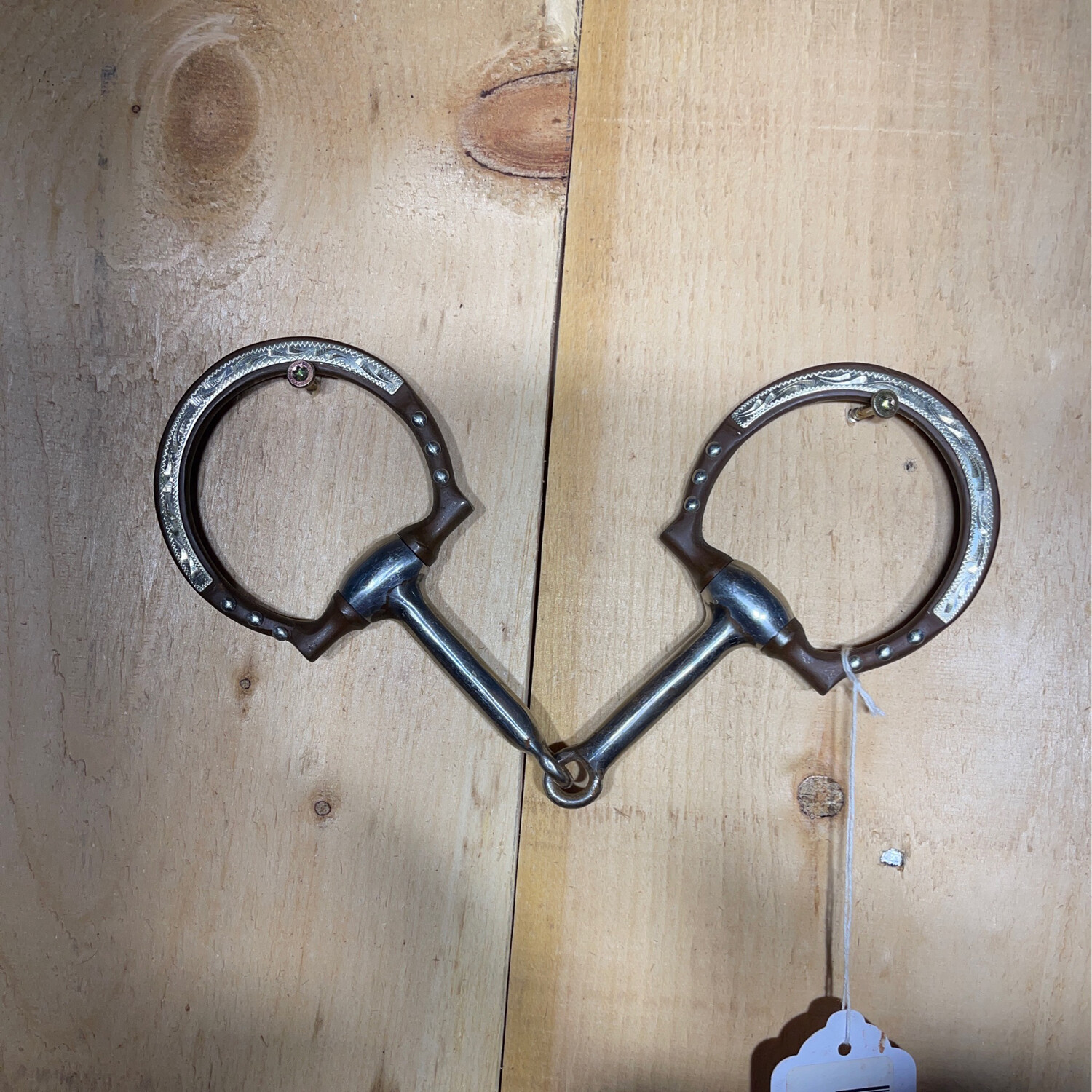 Browned Iron Dee Ring Snaffle