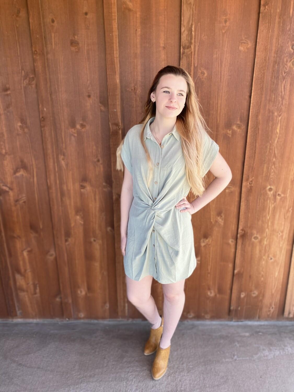 Darlene Shirt Dress
