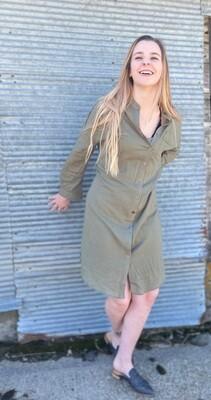 Jordan Button Up Dress