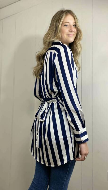 Sweetest Hours Shirt Dress