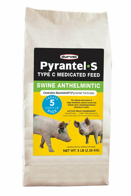 Pyrantel #5 Pig Wormer