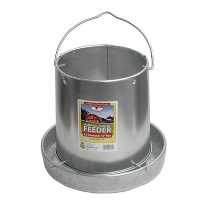 Galvanized Feeder