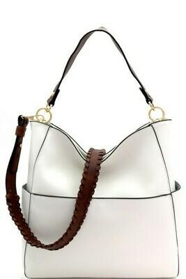 Gold Tone Shoulder Bag