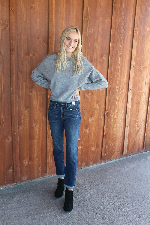 Asymmetrical Neckline Sweater