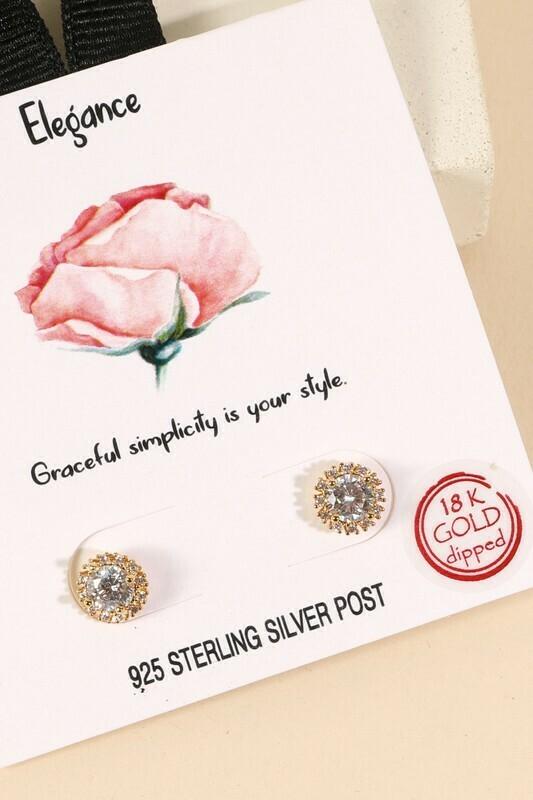 Elegance Stud Earrings
