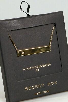 Metal Bar Necklace