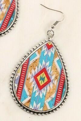Navajo Print Earrings