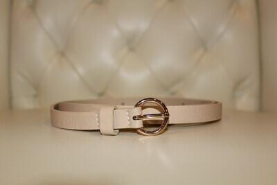 Glossy Buckle Belt