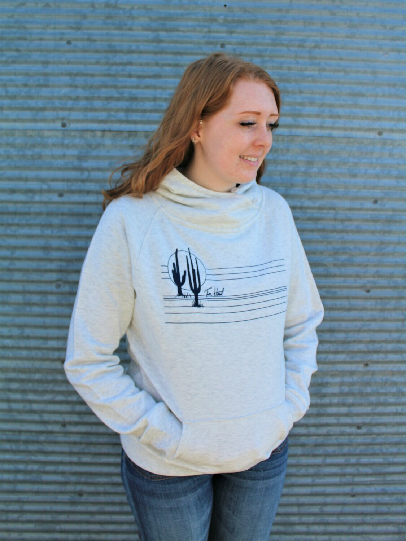 Light Grey Cactus Sweatshirt