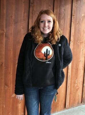 Harper Black Fleece Jacket
