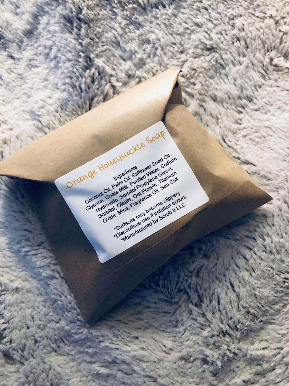 Orange Honeysuckle Soap