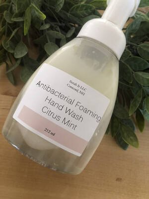 Lavender And Chamomile Foaming Face Wash