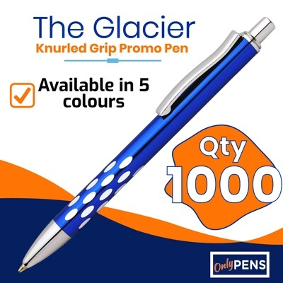 1000 x THE GLACIER PROMO PENS