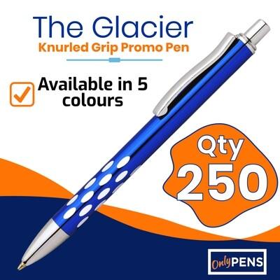 250 x THE GLACIER PROMO PENS