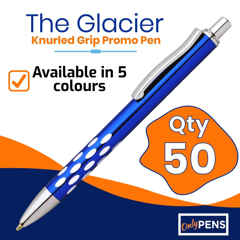 50 x THE GLACIER PROMO PENS