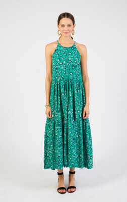 Mirth Napa Halter Green Lilly