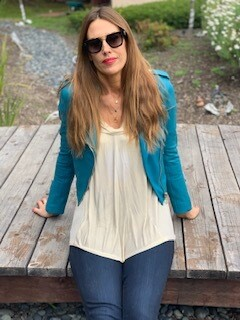 LTH JKT Turquoise Leather Jacket