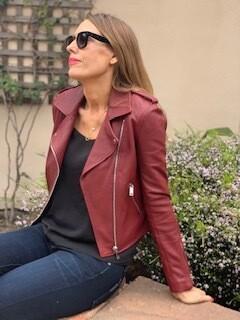 LTH JKT Red Leather Jacket