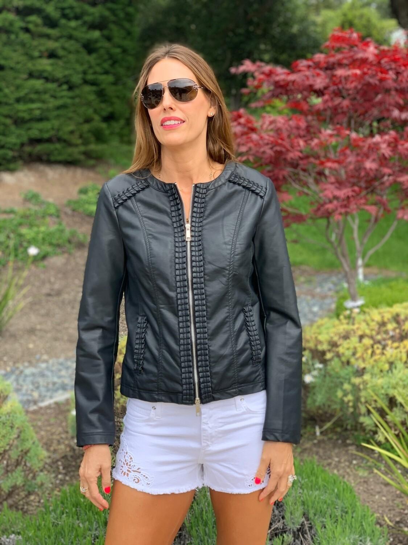 Rhino & Pelle Faux Leather Jacket