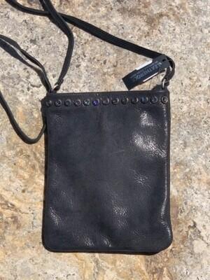 Leatherock Leather Crossbody Purse