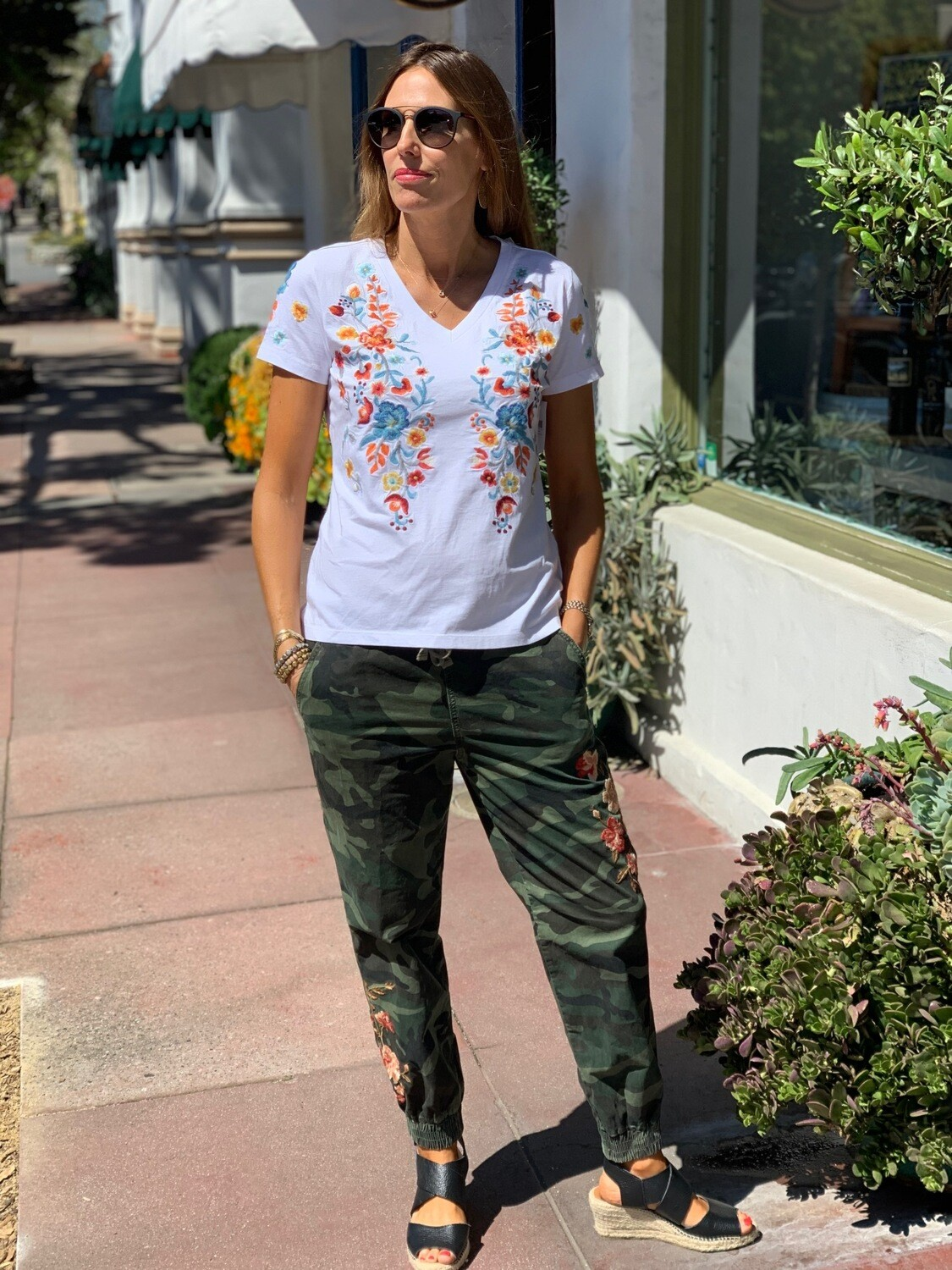 Driftwood Classic Embroidered T-Shirt