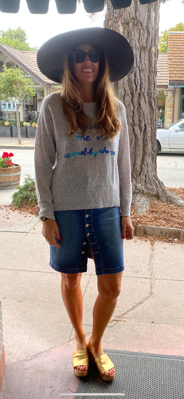 Meet Me in Carmel Cashmere Sweater
