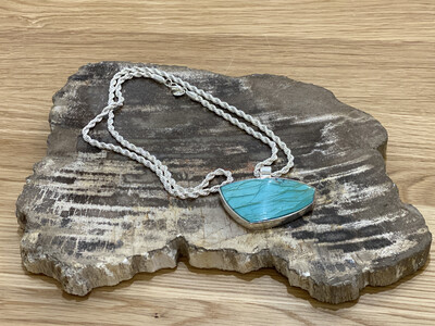 PENDANT STERLING WITH TURQUOISE