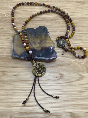 Ohm Coin Necklace